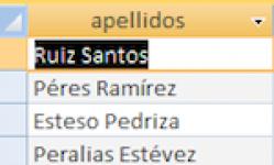 Separar nombre y apellidos en tabla Access