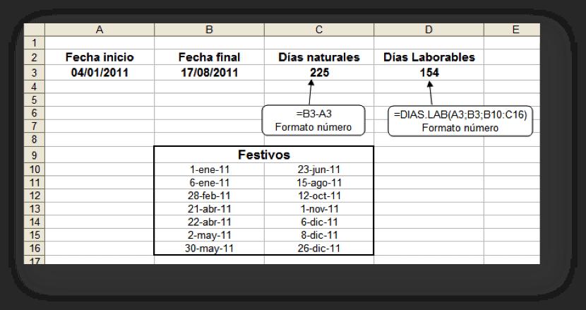 Cálculos con fechas y horas en Excel   José Enrique Martínez