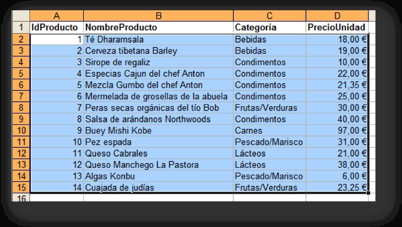 Filas De Colores Alternos En Excel 2003 Jos 233 Enrique