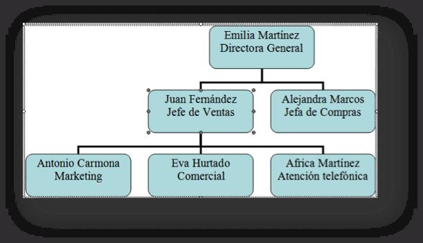 organigrama fase 1