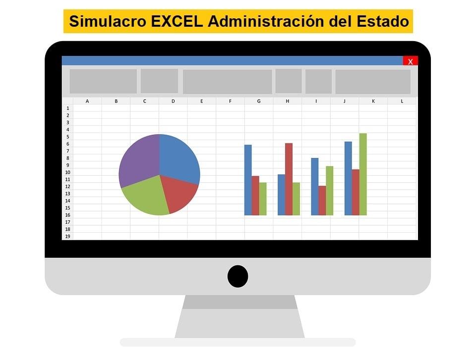 Simulacro Excel Auxiliar Administrativo del Estado