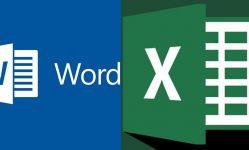 Ejercicios para oposiciones: Word y Excel