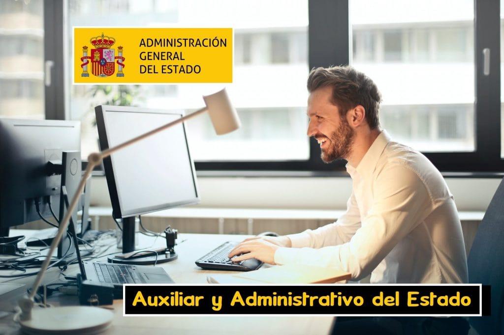 Oposiciones Auxiliar Administrativo Estado
