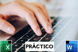 ejercicio practico word y excel